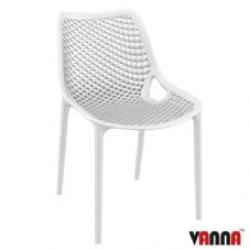 Vanna Spring Side Chair - White